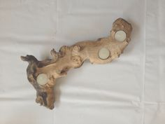 Intricate driftwood tealight holder