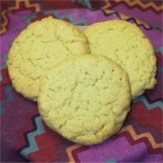 have a friend that is diabetic.gonna try these for her. Diabetic Cake, Diabetic Desserts, Diabetic Recipes, Lemon Coconut, Coconut Cookies, Apple Cake, Diabetic Friendly, Holiday Treats, Cookie Recipes