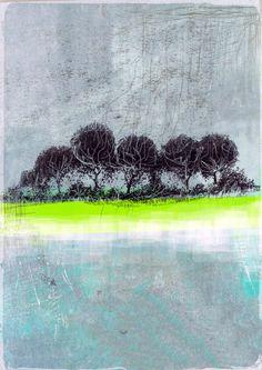 Winter Treeline- Original digital art print by HumbleCottageDesigns on Etsy https://www.etsy.com/au/listing/471100342/winter-treeline-original-digital-art