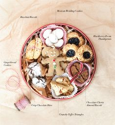 Cookie Tins 101 (Williams Sonoma). Link includes tips and lots of cookie recipes.