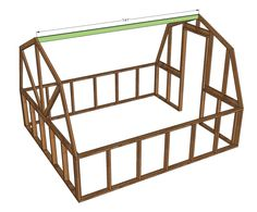 Ana White Build a Barn Greenhouse Plans - Yahoo Image Search Results Greenhouse Panels, Diy Greenhouse Plans, Backyard Greenhouse, Greenhouse Growing, Small Greenhouse, Greenhouse Wedding, Pallet Greenhouse, Ana White, Wooden Greenhouses