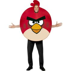 Angry Birds Costume,Red