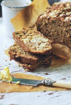 Zucchini & Oat Bread
