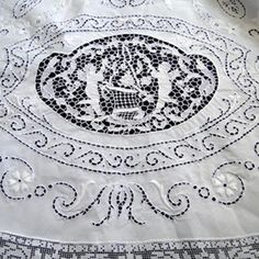 Italian Lace Tablecloth