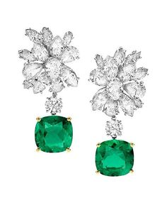 euvieira:  beautyblingjewelry:  Bulgari emerald and fashion love    …things! ♥♥♥
