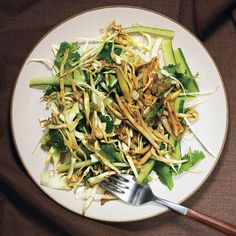 This salad is great with grilled         chicken thighs, lamb chops, or leg of lamb.