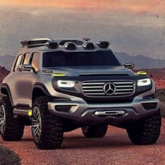 Mercedes-Benz Ener-G-Force Concept SUV -- Curated by: Towright Towing & Transport | PO Box 27052 Willow Park PO, Kelowna, BC, Canada V1X 7L7 | (250) 979-8093