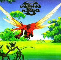 "Osibisa ""Woyaya"" MCA Records MDKS 8005 12"" LP Vinyl Record, UK Pressing (1971) Gatefold Album Cover Art by  Roger Dean Tales From Topographic Oceans, Cover Art, Roger Dean, Shops, Logo Design, Graphic Design, Album Covers, Digital, Painting"