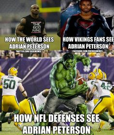 Adrian Peterson <3