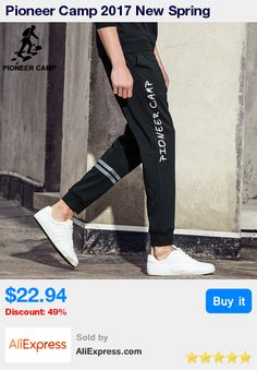 Pioneer Camp 2017 New Spring sweatpants men brand clothing fashion male causal pants top quality joggers men trousers AWK702061 * Pub Date: 20:16 Feb 5 2018