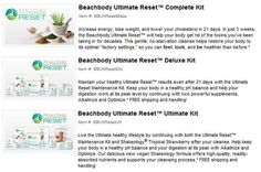 "Beachbody's Ultimate Reset is now available!! WOOT! I can't even begin to tell you all the amazing things I've heard from it like:   ""I lost 13 pounds in 14 days!""  ""11 pounds for me.""  ""10.5 pounds gone in two weeks.""  Those are just a FEW of the testimonials from the most recent test group! AMAZING! Check out your options, if you have questions, message me and when you're ready to give you insides the best spring cleaning EVER!"