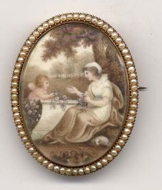 Mourning Jewelry...Link to Things Gone By Museum