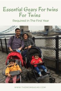 Shared here a list of essential gears for twins that we bought in the first year and that made our life easy and manageable. Breastfeeding Twins, Newborn Twins, Twin Pram, Birth Weight, 7 Month Olds, Double Strollers, Nursing Pillow, Short Trip, Toddler Preschool
