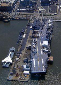 USS Intrepid Aircraft Carrier! Aircraft Museum