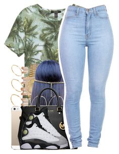 """Half Day Today"" by nasiaamiraaa ❤ liked on Polyvore featuring ASOS, Maison Margiela, Rolex, River Island, MICHAEL Michael Kors and NanaOutfits"