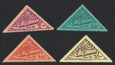 Bolivia Scott #C165-68 (16 Jul 1952) Proposed Columbus Lighthouse: