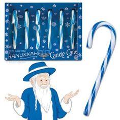 Hanukkah Candy Canes