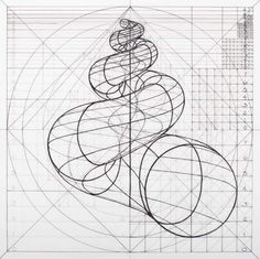 Venezuelan artist Rafael Araujo creates meticulously detailed drawings of the Fibonacci spiral in naturenow, you can color along. Geometric Drawing, Geometric Shapes, Spirals In Nature, Doodle Drawing, Sacred Geometry Art, Nature Geometry, Sacred Geometry Patterns, Poster Design, Math Art