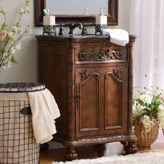 Feel like a princess with this Everington Vanity Sink! #Kirklands #BedandBath