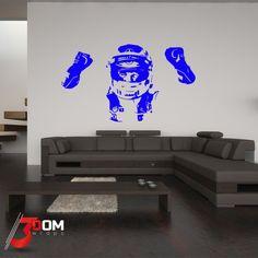 Legends Wall Vinyl - Button Silhouette   3Dom Wraps – 3Dom Wraps Store