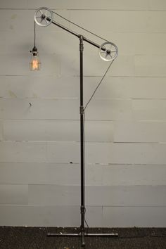 Floor Light   Industrial Lamp   Pulley Light   Industrial Furniture    Restoration Hardware   Pipe Lighting   Home Lighting   Industrial Chic