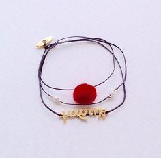 """Βραχιολάκι """"μάρτης"""" Boho Jewelry, Jewlery, Lucky Charm, Jewelries, Handmade Accessories, Anklets, Handmade Bracelets, Beautiful Pictures, Hoop Earrings"""