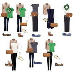Simple city break capsule wardrobe by lizsthawkwell on Polyvore