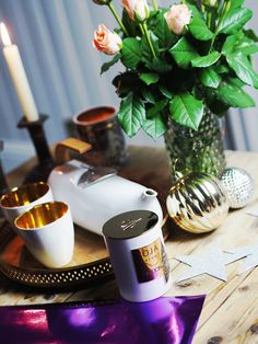 Fragrances for the home. How to style a lifestyle photoshoot.