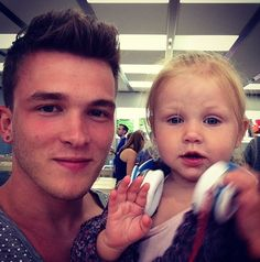 Josh and baby lux