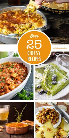Cheese please! Over 25 creative cheesy recipe ideas for you to make and enjoy - including some vegan cheese options! Vegan Cheese Recipes, Cheesy Recipes, Cooking Recipes, Canadian Cheese, Canadian Food, Greek Fried Cheese, Side Dish Recipes, Side Dishes, Holiday Party Appetizers