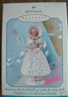 $3.43 1998 Hallmark Keepsake Ornament Barbie as Little Bo Peep  From Hallmark   Get it here: http://astore.amazon.com/ffiilliipp-20/detail/B000WBAJ0S/176-2998190-4483019