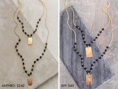 Make It for Less: Beaded Pendant Necklace