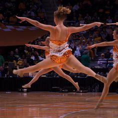 Tennessee Journalist, via Flickr #majorettes #baton twirling     wish my jumps looked like this
