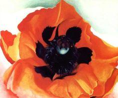 Trademark Fine Art 'Poppy' Canvas Art by Georgia O'Keefe, Size: 35 x Orange Georgia Okeefe, Canvas Art Prints, Canvas Wall Art, Framed Canvas, Framed Prints, O Keeffe, New York Art, Art Moderne, Museum Of Fine Arts