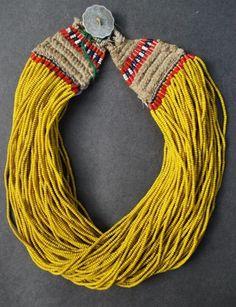 Yellow boho