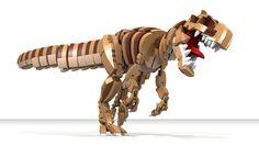Allosaurus Lego Dinosaurier - Decoration and Outfits Lego Mechs, Lego Bionicle, Lego Design, Lego Dinosaurus, Lego Jurassic Park, Lego Dragon, Lego Animals, Amazing Lego Creations, Lego Storage
