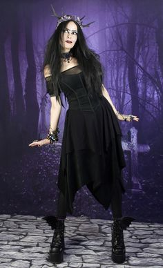 Gotherella Dress from www.moonmaiden-gothic-clothing.co.uk c7a5e6b91734
