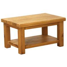 Plank Oak Coffee Table with Shelf  https://www.tradepricefurniture.co.uk/plank-oak-coffee-table-with-shelf.html