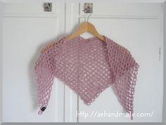 Virkmönster till en sjal.