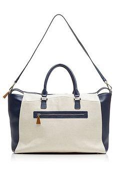 6da2dbfdae79 Nina Griscom - The Weekender in Canvas Baggage Claim