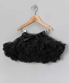 Take a look at this Black Rockstar Pettiskirt - Infant, Toddler & Girls by Micro Couture on #zulily today! $24.99