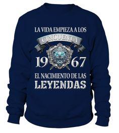 El NACIMIENTO 1967 #Shirts #GeburtstagShirts Graphic Sweatshirt, Sweatshirts, Sweaters, Partner, Shirt Men, Fashion, Models, Birth, Life