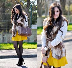 Yellow is for Winter... (by Alba .) http://lookbook.nu/look/4664597-Yellow-is-for-Winter_ No os olvideis del ♥