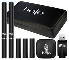 Halo G6 Starter Kit Review. #ecigs #ecigarettes #electroncigarettes #smokelesscig #halonation #haloG6