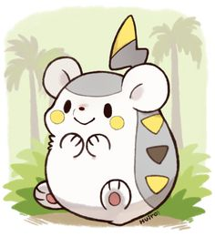Togedemaru, one of the new Pokémon revealed for Gen 7! AN ELECTRIC TYPE HEDGEHOG I LOVE POKÉMON SO MUCH MORE NOW.