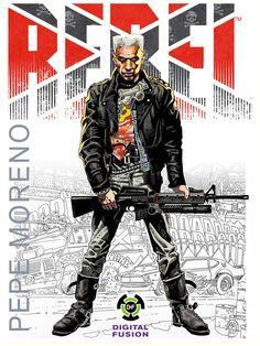 Pepe Moreno's Graphic Novels