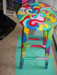 Funky Hand Painted Furniture |