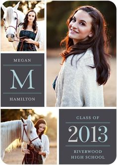 Graduation Announcements Pure Class