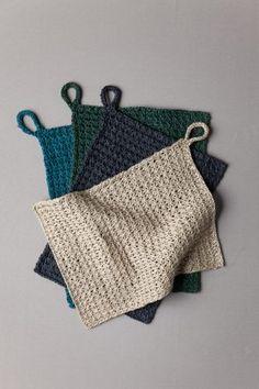 Waffle Stitch Washcloth   Purl Soho Knitted Washcloth Patterns, Knitted Washcloths, Dishcloth Knitting Patterns, Knitting Stiches, Knit Dishcloth, Crochet Patterns, Crochet Blankets, Seed Stitch Hat, Waffle Stitch