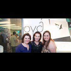 Zizi Ribero com as designers Márcia Vidal e Adriana Ximenes.  #vikx #joias #voguerio #quadrilaterodocharme #joya #joyaipanema